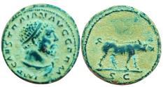 Ancient Coins - Trajan Æ Quadrans. Rome