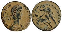 Ancient Coins - Constantius Gallus .Cyzicus Mint.  Rare.