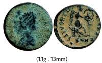 Ancient Coins - Aelia Eudoxia. AD 400-404.