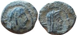 Ancient Coins - Syllaus with Shaqilat. 15 - 9 BC.