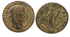 Ancient Coins - Maximianus AE Follis. 300 AD .