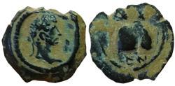 Ancient Coins - Hadrian. AD 117-138. Æ Dichalkon