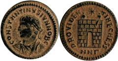 Ancient Coins - Constantine II AE follis. 325-326 AD.