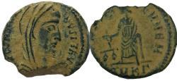 Ancient Coins - Constantine, posthumous, Cyzicus Mint , 341-346 AD.  No online example