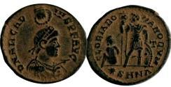 Ancient Coins - Arcadius (AD 383 - 388). AE Follis, Nicomedia.