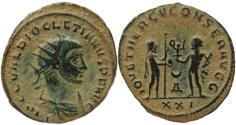 Ancient Coins - Diocletian 284-305