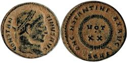 Ancient Coins - Constantine I. Thessalonica, AD 320-324.