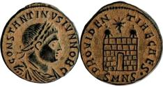 Ancient Coins - CONSTANTINE II, as Caesar. 317-337 AD.