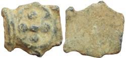 Ancient Coins - Alexander Jannaeus (Yehonatan), 103 - 76 B.C. Very rare