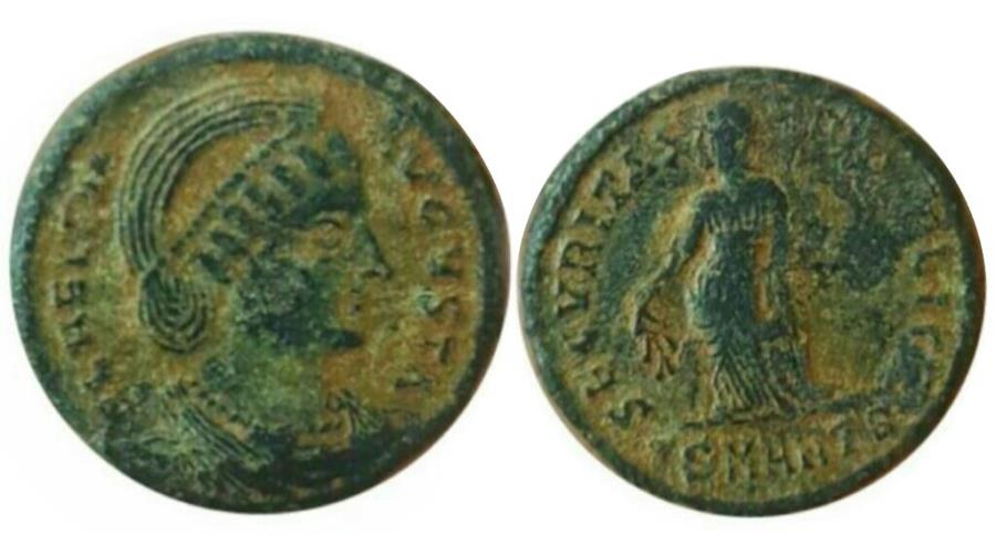 Ancient Coins - Helena. Augusta, AD 324-328/30.