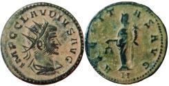Ancient Coins - Gallienus AR Antoninianus. AD 266-267.