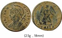 Ancient Coins - City Commemorative AE follis. 330-333 AD. Alexandria.