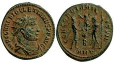 Ancient Coins - Diocletian , Antioch mint.