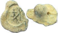Ancient Coins - Ancient byzantic lead seal