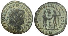 Ancient Coins - Severus II. AD 306-307. Very rare.