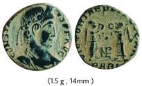 Ancient Coins - Constantius II .