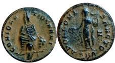 Ancient Coins - temp.Maximinus II.AD 310-313.