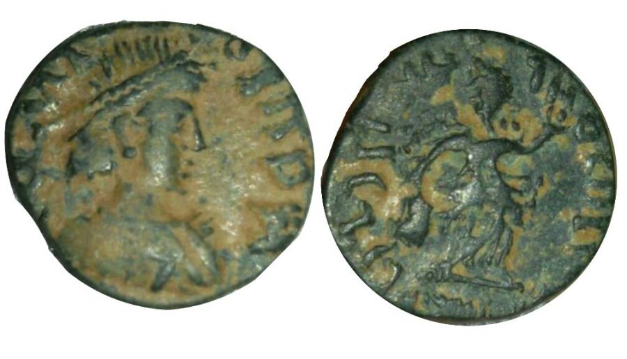 Ancient Coins - OSTROGOTHS. Theodoric. 493-526 AD. Probably unique !!!