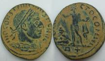 Ancient Coins - Constantine I Æ Nummus. Rome, AD 316-317 . Rare