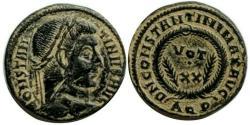 Ancient Coins - Constantine I , Aquileia Mint.