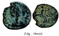 Ancient Coins - Aelia Eudoxia.AD 400-404.