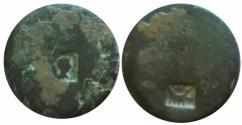 Ancient Coins - Judaea. Tenth Roman Legion. countermark: galley (emblem of the Legio X Fretensis). Meshorer 381b
