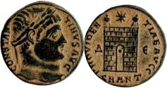 Ancient Coins - Constantine I The Great.327-328 AD