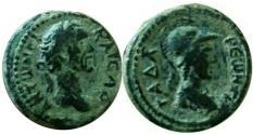 Ancient Coins - Antoninus Pius.AD 138-161. Gadara