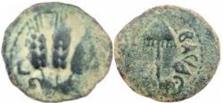 Ancient Coins - Agrippa I.JUDAEA, Herodian Kings .37-44 CE