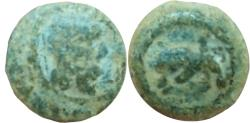 Ancient Coins - NABATAEA. Lead coin . Petra mint.