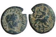 Ancient Coins - Volusian. Caesarea Maritima AD 251-253.