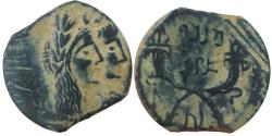 Ancient Coins - Malichos with Shaqilat. Choice example