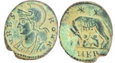 Ancient Coins - Urbs Roma AE4. 330-335 AD