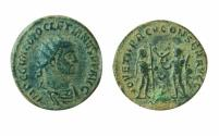 Ancient Coins - Diocletian . AD 284-305