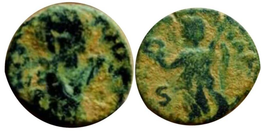 Ancient Coins - Valentinian III, AE4, 425-455 AD. Rome.