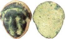 Ancient Coins - ANCIENT HOLY LAND, 400 B.C LEAD WEIGHT. PHOENICIAN