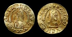 Ancient Coins - ANCIENT COINS  Axumite, The Christian Kings of Aksum (c.540-740 AD) Nezool, Gold Coin, very Rare