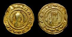 Axum - Ebana circa 440-470, AV Gold, Rare