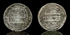 World Coins -  Abbasid dirham AR, temp al-Rashid, Mint: Tabaristan Date: 190h, Very fine, Rare.