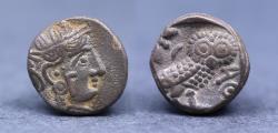 Ancient Coins - South Arabia, Imitative Sabaean Ӕ gms or 1/2 Unit. Uncertain ruler, circa 350-250 BC. Imitating Athens.