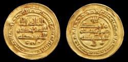 World Coins - ISLAMIC COINS. ABBASID. al-Radi, Gold Dinar amiri, Mint: San'a' Date: 325h , extremely fine