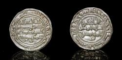 World Coins - RASSID: al-Mahdi  the Fatimid caliph, 911-913, AR sudaysi , Mint: Tukhla', The mint has also been interpreted as 'Aththar