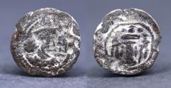 Ancient Coins - Sasanian Kingdom. Shapur III (AD 383-388). Lead pashiz , uncertain mint. unpublished RRRR