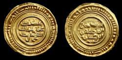 World Coins - ISLAMIC. Ziyadid, al-Muzaffar b. 'Ali,  Dinar, Mint: Zabid Date: 381h. AV , Yemen,