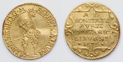 Ancient Coins - Coins of Italian mints Livorno Cosimo III de'Medici, 1670-1720. Ongaro 1676, AV