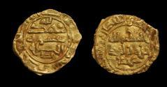 World Coins - SAFFARID: Khalaf b. Ahmad, 2nd reign, 972-980, AV fractional dinar , Mint: Sijistan, Date:365