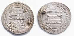 World Coins - Islamic Coins, Abbasid 3rd period, al-Muqtadir (295-320h),Silver dirham Mint: Wasit Date: 302h very Rare