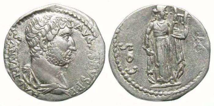 Ancient Coins - Hadrian, AD 117 to 137, Silver Cistophorus.