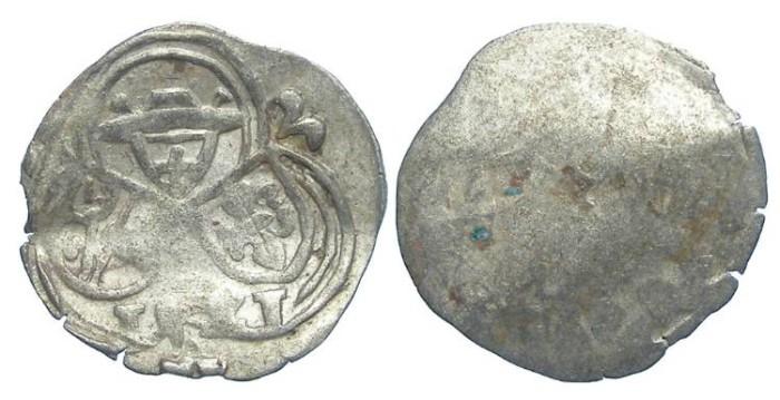 World Coins - Austria, Salzburg. Matthaus Lang von Wellenburg, AD 1519 to 1540.  Silver Zweier. 1521