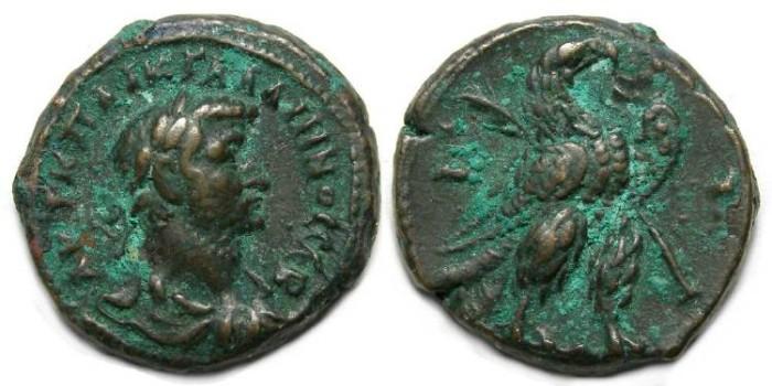 Ancient Coins - Gallienus, AD 253-268. Alexandrian Potin tetradrachm.